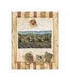 Hillside Vineyard I Giclee-trykk av Elizabeth Jardine