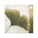 Refreshing Ginko Giclee Print by Ursula Salemink-Roos