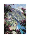 Positano, the Amalfi Coast Giclee Print by Curt Walters