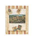 Hillside Vineyard II Giclee-trykk av Elizabeth Jardine