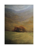 Copse of Sienna Giclee Print by Simon Winegar