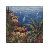 View Through Palms Giclee Print by Malcolm Surridge