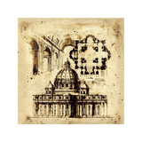 Architectorum III Giclee Print by Paul Panossian