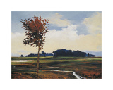 Midafternoon in Madison Valley Giclee Print by Kent Lovelace