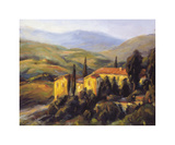 Distant Hills Giclee Print by M. Downs