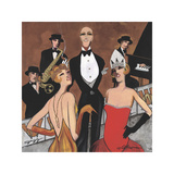Dames du la Soiree Giclee Print by Jeff Williams