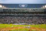 Raiders Football: O.co Coliseum Photographic Print by Aaron Kehoe