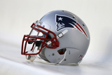 Patriots Football: New England Patriots Helmet Photographic Print by Matt Rourke