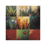 Tropical Nine Patch Giclee Print by Don Li-Leger