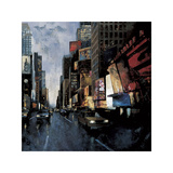 Times Square II Giclee Print by Marti Bofarull