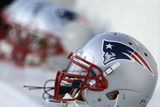 Patriots Football: New England Patriots Helmet Photo by Matt Rourke