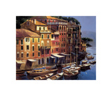 Mediterranean Port Giclee Print by Michael O'Toole