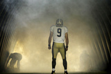 Saints Football: Drew Brees Photographic Print by Gerald Herbert