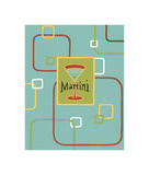 Martini Giclee Print by Michele Killman