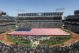 Raiders Football: O.co Coliseum Photographic Print by Marcio Jose Sanchez
