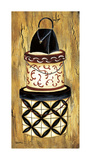 Vintage Hat Box I Giclee Print by Krista Sewell