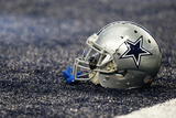 Cowboys Football: Dallas Cowboys Helmet Prints by Sharon Ellman