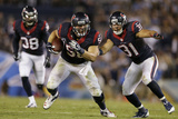 Texans Football: Brian Cushing Photographic Print by Gregory Bull
