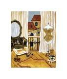 French Boudoir II Giclee Print by Krista Sewell