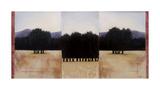 Three's a Crowd Giclee Print by Travis Hall