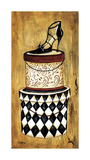 Vintage Hat Box II Giclee Print by Krista Sewell