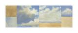 Secluded Beach Giclee Print by Rita Vindedzis