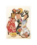 Jubilation Reproduction procédé giclée par Keith Mallett