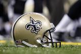 Saints Football: New Orleans Saints Helmet Print by Jonathan Bachman