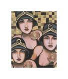 Fabulous Trio Giclée-tryk af Jeff Williams