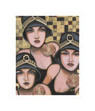 Fabulous Trio Giclee Print by Jeff Williams