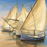 Windward Latin Sails Print on Canvas by Jaume Laporta