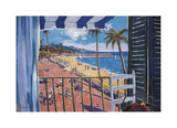Balcony View Giclee Print by Manel Doblas