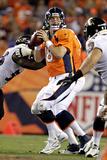 Broncos Football: Peyton Manning Fotografisk trykk av Joe Mahoney