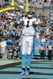 Panthers Football: Cam Newton Photographic Print by Mike McCarn