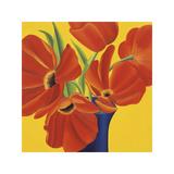 Sunny Tulips Giclee Print by Sarah Horsfall