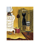 Dressing Room I Giclee Print by Krista Sewell