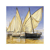 White Sails II Giclee Print by Jaume Laporta