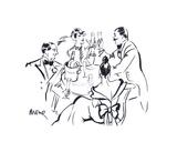 Celebration II Giclee Print by Mona Shafer Edwards