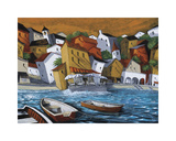 Cafe del Mar Giclee Print by Miguel Freitas