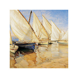 White Sails I Giclee Print by Jaume Laporta