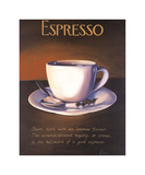 Urban Espresso Giclee Print by Paul Kenton