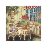 Amaryllis Bouquet Giclee Print by Elizabeth Jardine