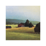 Summer Morning in the Valley Giclee Print by Sandy Wadlington