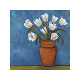 White Tulips Giclee Print by Ann Parr
