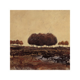 Oak Trees Giclee Print by Kerry Darlington