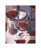 Red Wine in Venice Giclee Print by Paul Kenton