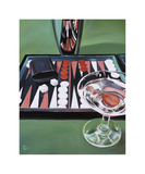 Backgammon Giclee Print by Paul Kenton