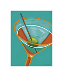 Sunglow Martini II Giclee Print by Michele Killman