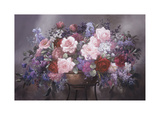 Floral Masterpiece Giclee Print by Victor Santos