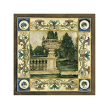 Garden Statuary Giclee Print by Elizabeth Jardine